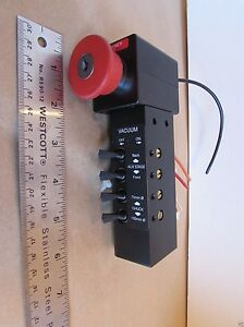 Toggle Valve Control Panel With Emergency Stop Switch Vacuum Table Cnc pneumatic
