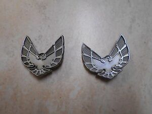 Vintage Pontiac Firebird Emblem Ornament Badge P n 485929 12324 Oem Original