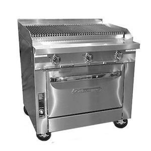 Southbend P36c ccc Heavy Duty Gas Range W Charbroiler