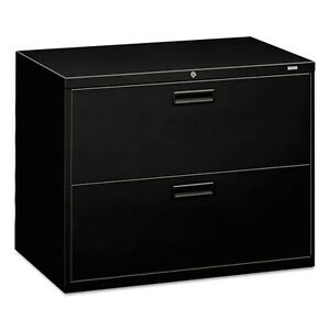 Hon 2 Drawer Lateral Filing Cabinet With Lock 582lp