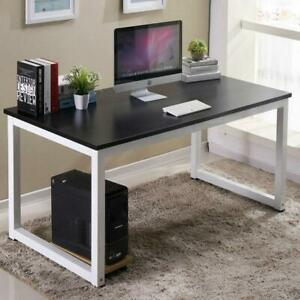 Computer Desk Pc Laptop Table Workstation Writing Table Wood Office Furniture