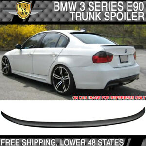 06 11 3 Series E90 Performance 2 Style Trunk Spoiler Painted Jet Black Abs