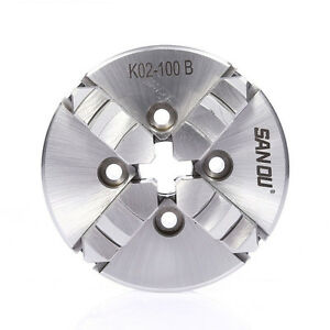 100mm 4 Jaw Manual Lathe Chuck 4 Inch M6 Self Centering For Cnc Wood Lathe