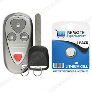 Replacement For Acura 2004 2006 Tl 2004 2008 Tsx Remote Car Keyless Key Fob Set
