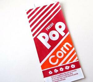 50 1 Ounce Oz Popcorn Bags Paper Theater Concession 1