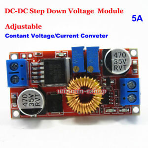 5a Dc dc Constant Current Voltage Regulator Buck Step Down Cccv Converter Module