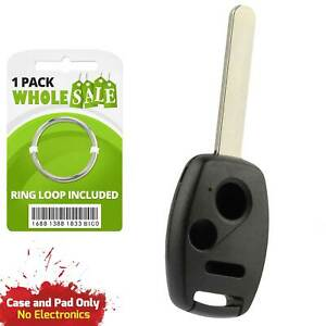 Replacement For 2006 2007 2008 Honda Civic Lx Key Fob Remote Shell Case