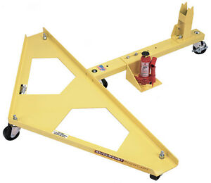 Snow Plow Cart Plow Dolly Quick Mount Plow Cart For Boss V Snow Plow