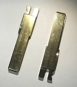 Two Key Porsche Uncut Replacement Blade Blank Model Years 1992 2012 New