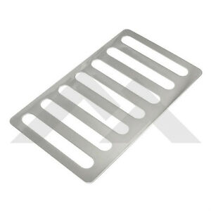 Hood Vent Cover Stainless Steel For Jeep Wrangler Jk 2007 18 Rough Trail Rt34078