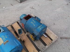 15 Hp Dc Emerson Electric Motor 1750 Rpm 257at Frame Dpfv 500 V