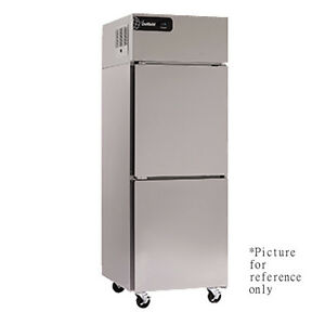 Delfield Gbr2p sh Two Section Reach in Refrigerator