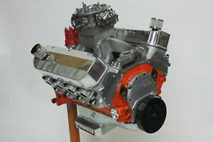 540ci Big Block Chevy Pro Street Engine 780hp Carb D Built To Order Dyno Tuned