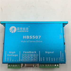 3phase Stepper Driver Dc18 48v 7a Hbs507 For Nema23 Motor Cnc Leadshine Es d508