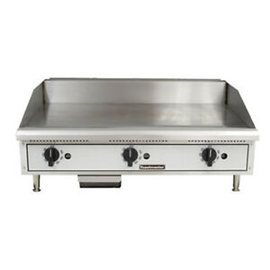 Toastmaster Tmgt48 Gas Countertop Griddle 48 W Thermostatic Controls
