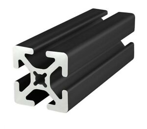 8020 Inc Tslot 15 Series 1 5 X 1 5 Aluminum Extrusion 1515 s black X 72 Long N