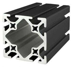 8020 Inc Tslot 15 Series 3 X 3 Aluminum Extrusion 3030 s black X 36 Long N