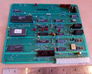Robotool Cnc Milling Machine Board 012 0505 Rev D1 applied Micro Robtics 05202