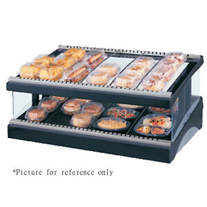 Hatco Gr3sds 33 Multi product Slanted Display Warmer With Heated Glass Shelves