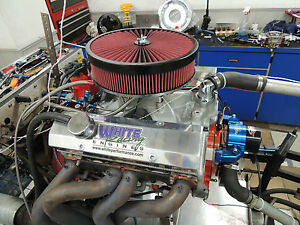 Chevy 427 Sbc Stroker Engine 725 Hp Afr 220 Cnc Heads 10 5 Cp Crate Motor