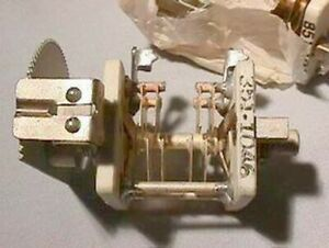 3 Vintage Philco 2 Section Variable Capacitors Nos