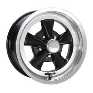 Cragar 610b S S Rim 15x7 5x4 75 Offset 6 Black With Machined Lip Quantity Of 1