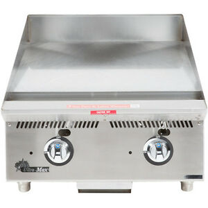 Star 824ma 24 Countertop Gas Griddle W Manual Controls