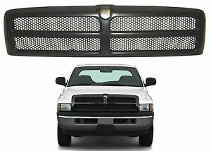 Replacement Black Paintable Grill 1994 2001 Dodge Ram Ch1200188 New Free Ship