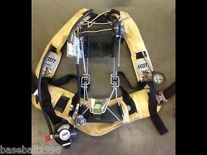 Scott 4 5 Industrial Air Pack 4500psi Scba Harness Air Pak very Nice Condition