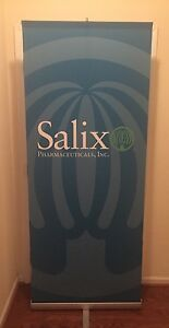 Skyline Trade Show Exhibit Banner Retractable W Carry Storage Case 3000r 3000 r