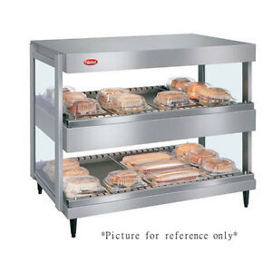Hatco Grsdh 36d Display Warmer With 14 Divider Rods And 2 Horizontal Shelves