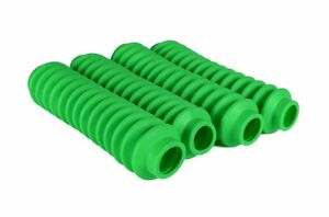 4 Lime Green Shock Boots Fits Most Shocks For Jeep Universal Off Road Vehicles