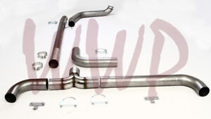 4 Turbo Back Dual Smoker Exhaust System 99 03 Ford F250 F350 7 3l Diesel Pickup