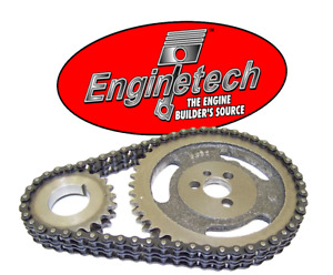 Hd Double Roller Timing Chain Set For Chevrolet Sbc 5 7l 283 305 327 350 383 400