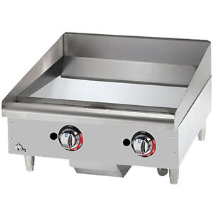 Star 624tchsf 24 Heavy Duty Gas Countertop Griddle