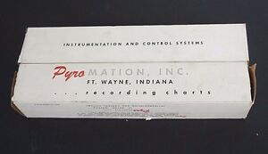 Lot Of 2 Nib Pyromation Inc Recording Chart Papers Fits Bn 553