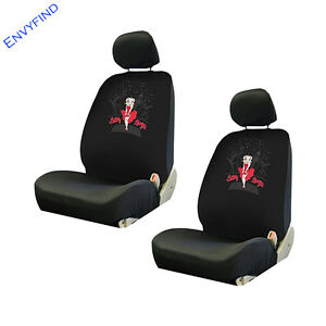 New Front Lowback Seat Coverss Paramount Pictures Betty Boop Dress Skyline 2pc