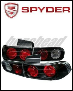 Spyder Acura Integra 94 01 4dr Euro Style Tail Lights Black