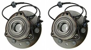 Hub Bearing For 2012 Chevrolet Tahoe For 4wd Awd Only Front Pair