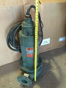 Goulds Baldor Pump 1745 Rpm 230 460 Volt 15 Hp Water Well Industrial 3 Phase Big