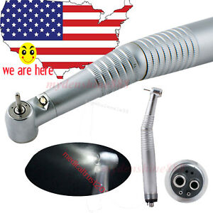 Newest Hot High Speed Led Dental Handpiece Standard Push 4 Hole Fit Kavo Turbine