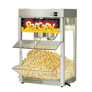 Star 86ss 8 Oz Kettle Capacity Self Service Popcorn Popper
