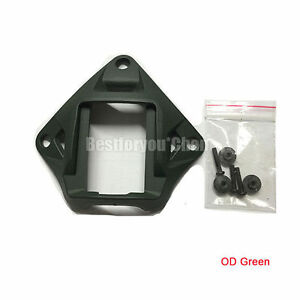 Airsoft Tactical Devgru Style NVG Plastic Mount for MICH Fast PJ MH BJ Helmet OD