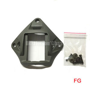 Airsoft Tactical Devgru Style NVG Plastic Mount for MICH Fast PJ MH BJ Helmet FG