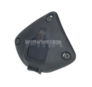 Tactical Metal Plastic NVG Night Vision Shroud Mount for MICH ACH Fast Helmet BK