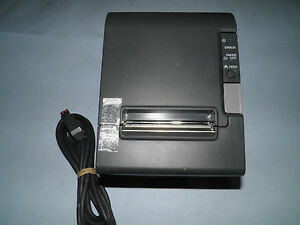 Epson Tm t88iv M129h Thermal Pos Receipt Printer Usb W Power Supply
