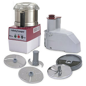 Robot Coupe R2dice Ultra Combination Food Processor dicer Stainless Steel Bowl