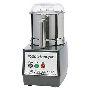 Robot Coupe R301 Ultra B Food Processor With 3 5 Quart Stainless Steel Bowl
