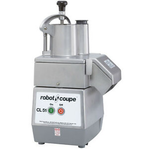 Robot Coupe Cl51 Vegetable Slicer Food Processor