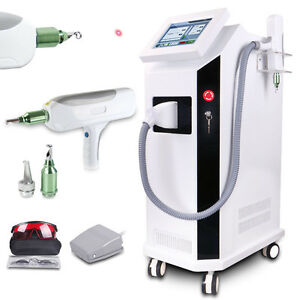 Professional Yag Q switch Laser Tattoo Removal Beauty Machine Skin Rejuvneation